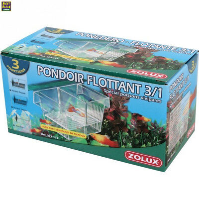 Zolux 3en1 Pondoir Isoloir pour Aquarium