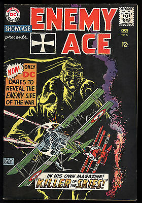Showcase (1956) #57 Signed by Joe Kubert First Print 4th App of Enemy Ace VG/FN