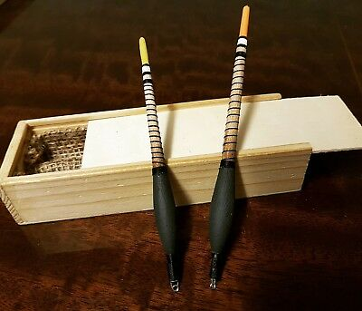 hand made roach floats in box