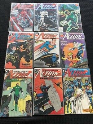 Action Comics Weekly Lot of 9