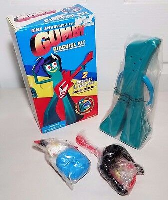 Vintage Trendmasters Gumby Disguise Kit with Floppy Disk NEW 90244