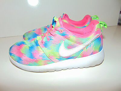 8c560a168f62d Nike Roshe One Print GS Multi-Color Rosherun Sz 4.5 Kids Youth Shoes 677784-