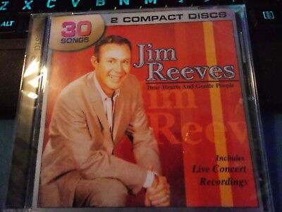Dear Hearts & Gentle People by Jim Reeves, 2 CD Set (2005 Legacy) Sealed Import