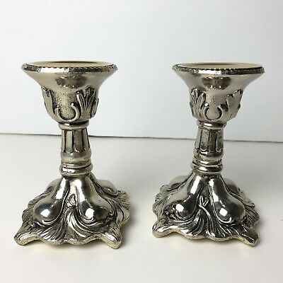 Vintage Holiday Imports, INC. 94107  Silverplate Candlestick