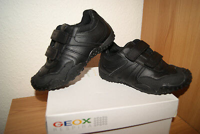 fd4083b7b2 Geox J Giant Boys Double Straps Fastened Trainers School Shoes Size 11 Kids