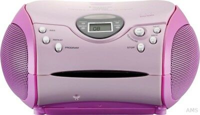 Lenco SCD-24 pink CD-Radio (o. MP3)