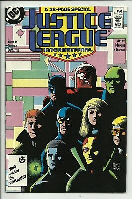 JUSTICE LEAGUE INTERNATIONAL set, issues 7 & 8