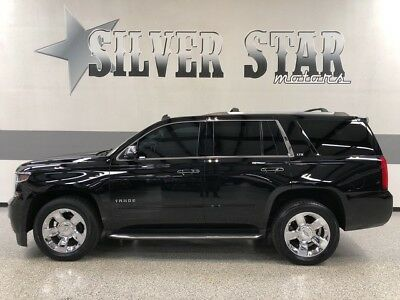 2015 Chevrolet Tahoe  2015 Tahoe LTZ 4WD V8 GPS Roof Leather Chrome Loaded 1TXowner SUV Luxury!