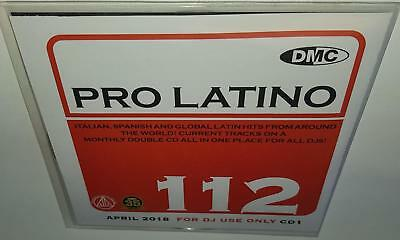 Dmc Presents Pro Latino 112 April 2018 Brand New 2Cd Dj Remix Service