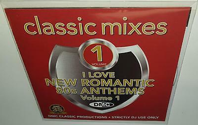 DMC CLASSIC MIXES I LOVE NEW ROMANTIC 80s ANTHEMS VOL 1 NEW DJ REMIX SERVICE CD