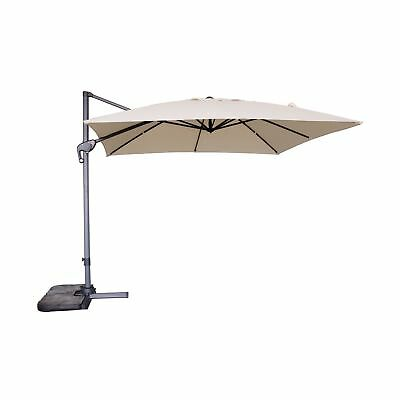Victoria Young 10 Ft Cantilever Patio Umbrella Outdoor Deluxe Hanging Offset