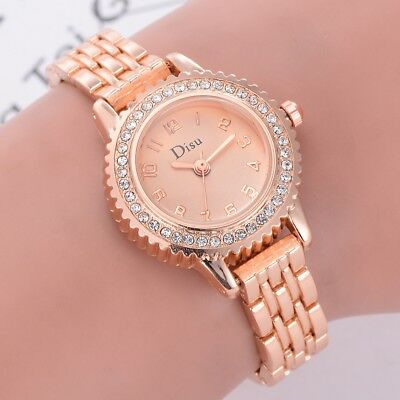 Women's Watches Classic Luxury Ladies Bracelet Dress Girl Rhinestone Wrist Watch