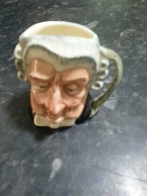 Royal Doulton the lawyer character jug small size
