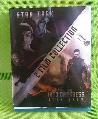 STAR TREK 2 Film Collection Into Darkness Blu-ray - neuwertig -