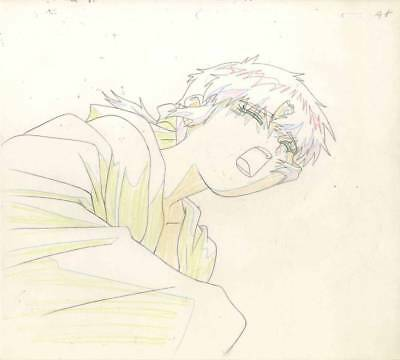 Anime Genga not Cel 3 X 3 Eyes #9
