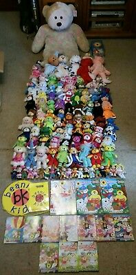 Massive Beanie Kid Collection (106 total) Includes Boxed Ones and Giant Big Kid!