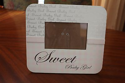 """Sweet Baby Girl"" 4""x6"" Photo frame"