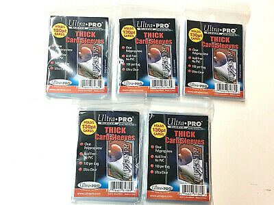 500 Ultra Pro Soft Trading Card Thick Penny Sleeves Baseball Pokemon Nfl New