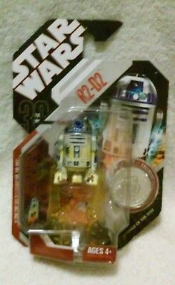 Star Wars R2-D2 Action Figure With Collectible Coin