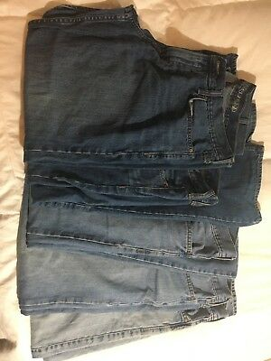Lot of 5- Men's Old Navy Jeans 36x30
