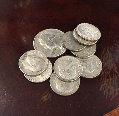 Prepper Investment - 1 Oz Junk Silver  90% Silver Coins Only Pre-1965 Bullion