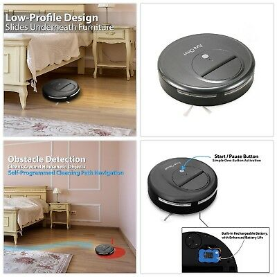 Smart Robot Vacuum Sweeper Cleaner Automatic Self-Navigated Floor Cleaning