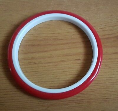 """New Plastic Embroidery Hoop Ring Sewing Fabric Tool  4.5"""" diameter approx"""