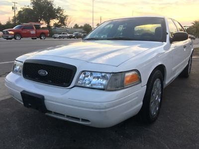 2009 Ford Crown Victoria  2009 Ford Crown Victoria Police Interceptor w/Street Appearance Package *FLORIDA