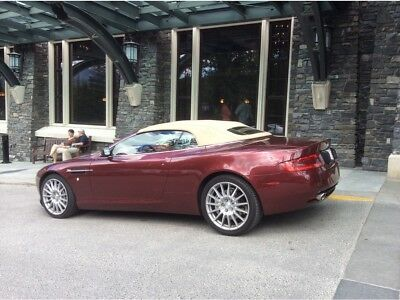 2009 Aston Martin DB9 Volante 2009 DB9 VOLANTE: ACCIDENT FREE LOW KM DEALER MAINTAINED WITH ALL RECORDS.