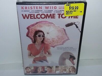 Welcome to Me (DVD, 2015, Canadian, Region 1) NEW - No Tax