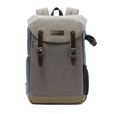 BAGSMART Camera Backpack with 15.6 Inch Laptop Compartment and Waterproof Rain