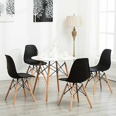 Lot De 4 Chaises Design Noir