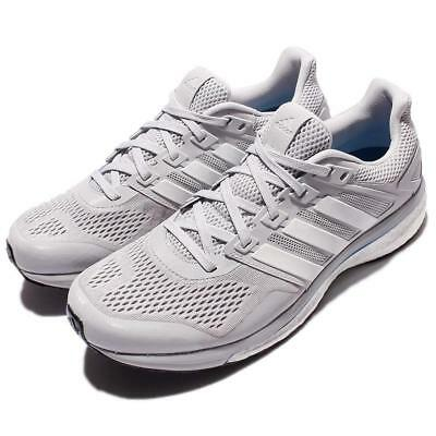 8c27e4b4ddef NEW ADIDAS MENS Supernova Glide 8 Boost Running Shoes Grey White Sz 9.5  BB4058 -  110.00