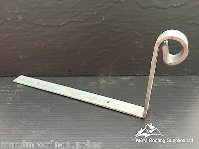 5mm LARGE Hip Irons | 300x150x5mm | Scrolled | Galvanised | FREE DELIVERY!!