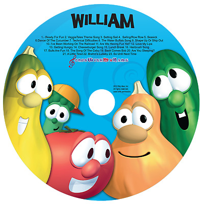 Personalized Silly Songs With The VeggieTales Digital Album Download