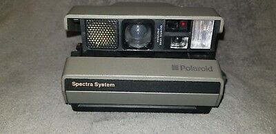Polaroid Spectra System Instant Camera Tested Works mint condition