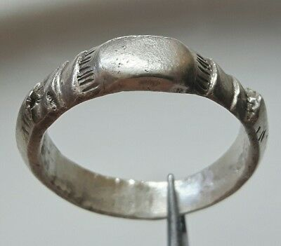 Byzantine Silver Ring * Early Christian