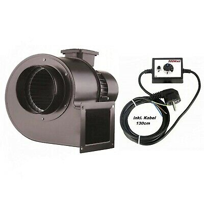 1850m3  Industrial Centrifugal Blower Fan + 500Watt Speed Controller Extractor