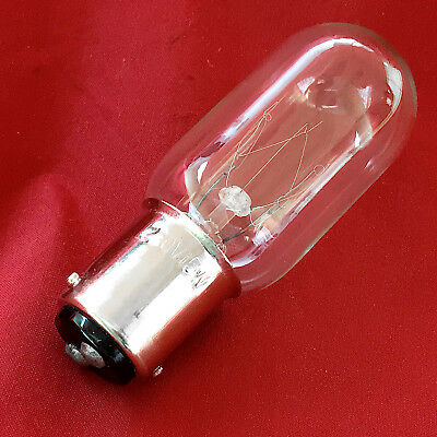 Sewing Machine Replacement Lamp Push In Light Bulb 15W BA15D for Vintage SINGER