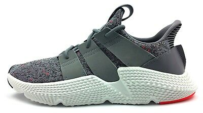 finest selection a0783 ddaa1 Adidas Prophere New Men's Shoes Grey White Solar Red Originals Sneaker  Primeknit
