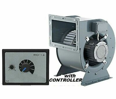 2000m3/h Industrial Centrifugal Blower Fan + 500Watt Speed Controller Extractor
