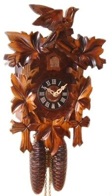 NEW 8 Day Cuckoo Clock in Light Wood- Engstler,Clocks