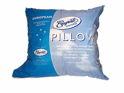 NEW Everyday European Pillow - Easy Rest,Pillows