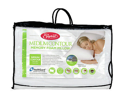 NEW Memory Foam Luxury Contour Pillow - Easy Rest,Pillows