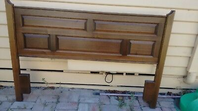 Vintage/Retro Solid Timber Australian Made Queen Bedhead