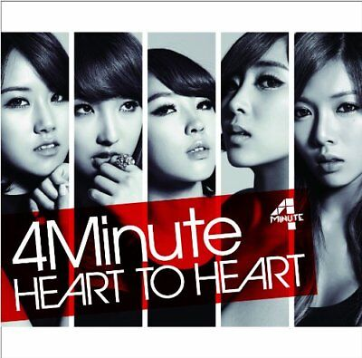 NEW 4MINUTE-HEART TO HEART-JAPAN CD DVD LTD TYPE A from Japan F/S
