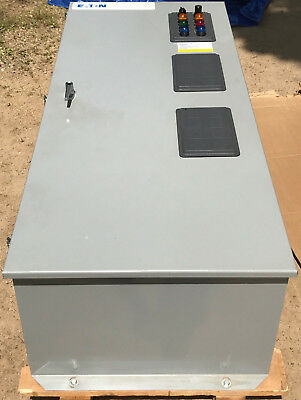Eaton Cutler Hammer 400 Amp 600V 3 Phase 4 Wire Automatic Transfer Switch New