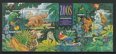 Australia 1994 : Zoos : Endangered Species - Mini-sheet. Mint Never Hinged
