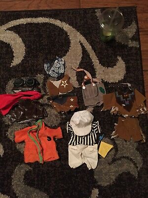 1971 Snoopy's Wardrobe Flying Ace Suit Outfit For Baby Plush SNOOPY 4420 & Extra