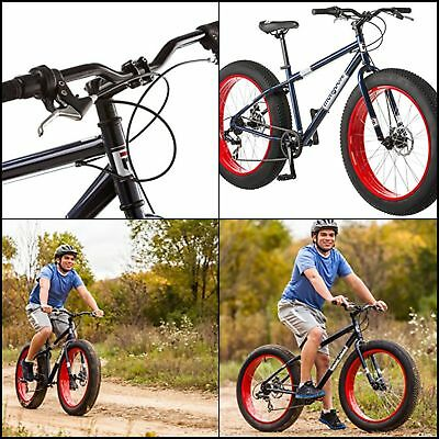 Mountain Bike Bicycle Mongoose Dolomite 26 Men S Fat Tire All Terrain New